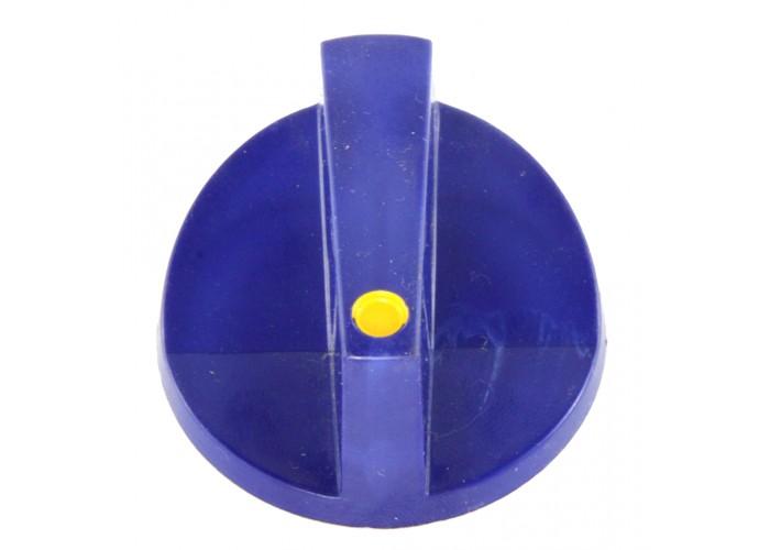 Ручка синяя для переключателей Gottak 6-гран. ЭПК-27Н.00.00.003