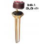 ТЭН для водонагревателей в комплекте с терморегулятором 16 А, 3.5 кВт, типа Ariston