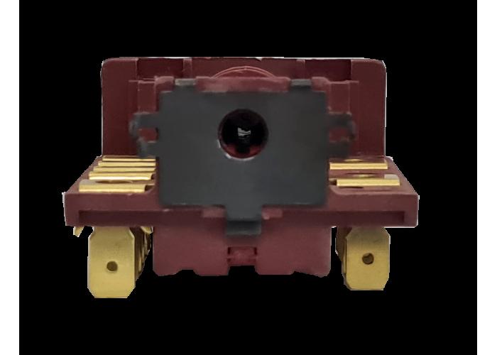Переключатель ПМ-3 EGO 42.03.0000.031 с разъемом под терморегулятор. вал 23 мм 3 поз. (С604A18A1M230T, AC6-T18-T604)