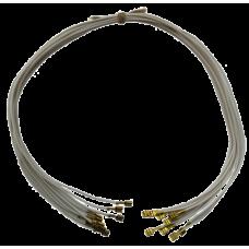Провод термостойкий ПРКА 40 см, 1.0 (фастон-фастон)