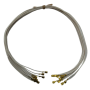 Провод термостойкий ПРКА 75 см, 1.0 (фастон-фастон)