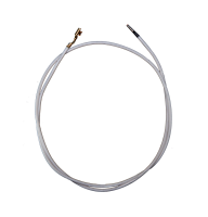 Провод термостойкий ПРКА 75 см, 1.0 (фастон-трубка)