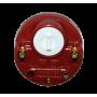 ТЭН радиаторный из нержавейки 700 Вт (левая резьба) в комплекте с терморегулятором