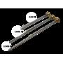 ТЭН для алюминиевых и биметаллических радиаторов из нержавейки 500W с правой резьбой G1 (33мм) SINAN