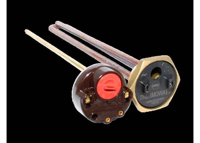 ТЭН для водонагревателей в комплекте с терморегулятором 15 А, 1.2 кВт,  THERMOWATT