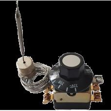 Терморегулятор WY-R12 SD 25А 250V 2-х полюсной  в комплекте с ручкой 100-320С, 25A (T32М-04)