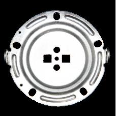Фланец круглый, пятиболтовый для RCF с ушками