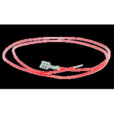 Провод термостойкий ПРКА 100 см, 1.0 (фастон-трубка)
