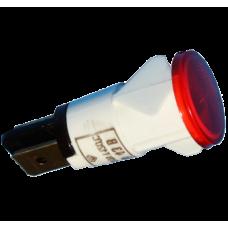 Сигнальная лампа для плит Аббат красная