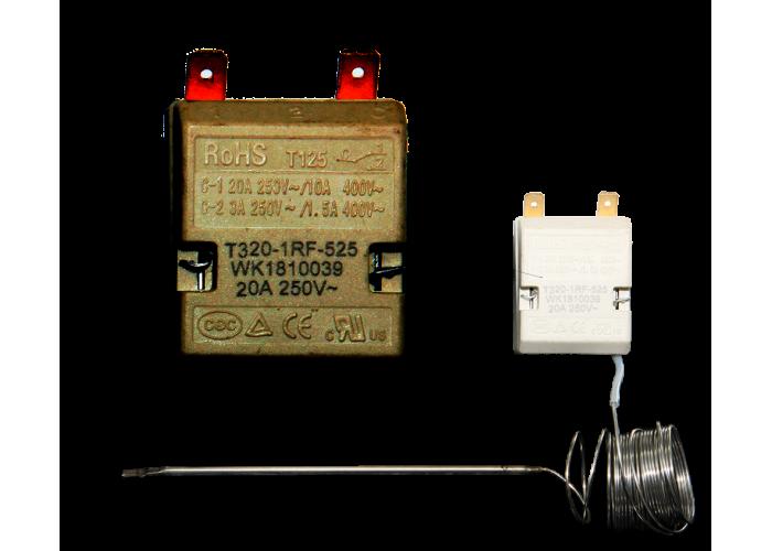 Терморегулятор капиллярный RoHS T320-1RF-525 50-320°С 20А
