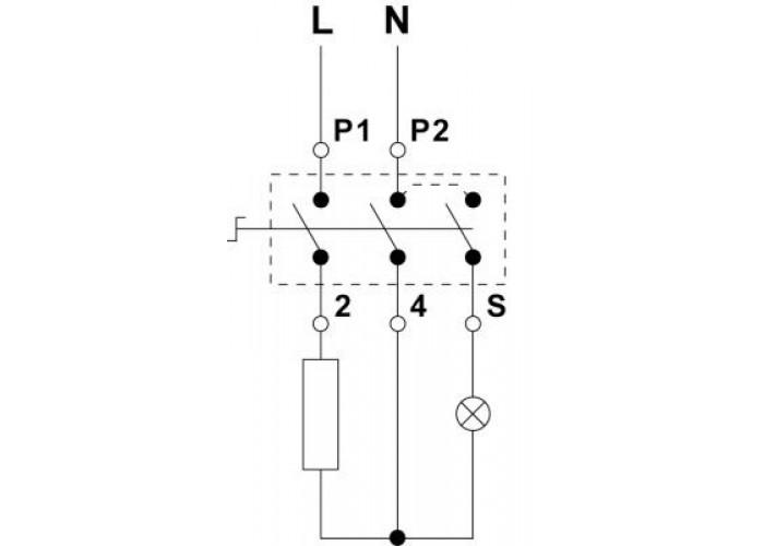 Переключатель для стеклокерамических плит EGO 50.57021.010