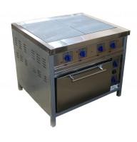 Плита промышленная электрическая напольная  ПЭ-048ЖШ