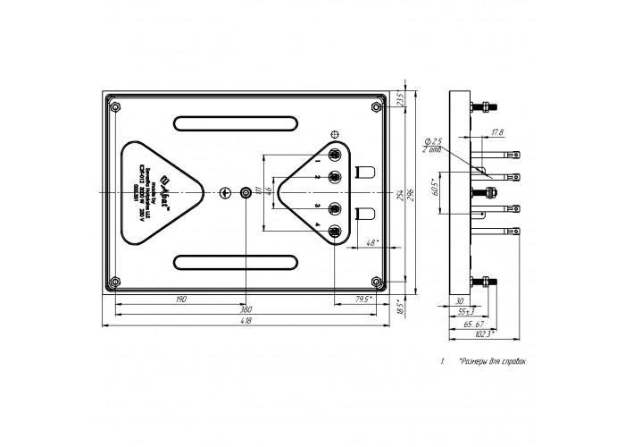 Конфорка КЭТ-0,12/3.0 для промышленной электроплиты