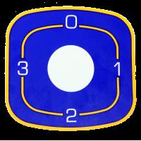 Наклейка ЭПК48-00.00.004 для переключателей Gottak